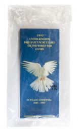 1995 £2 Dove Of Peace Brilliant Uncirculated pack for sale